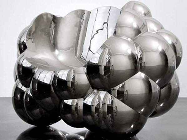 Richard Hutten's modern metal Cloud Chair