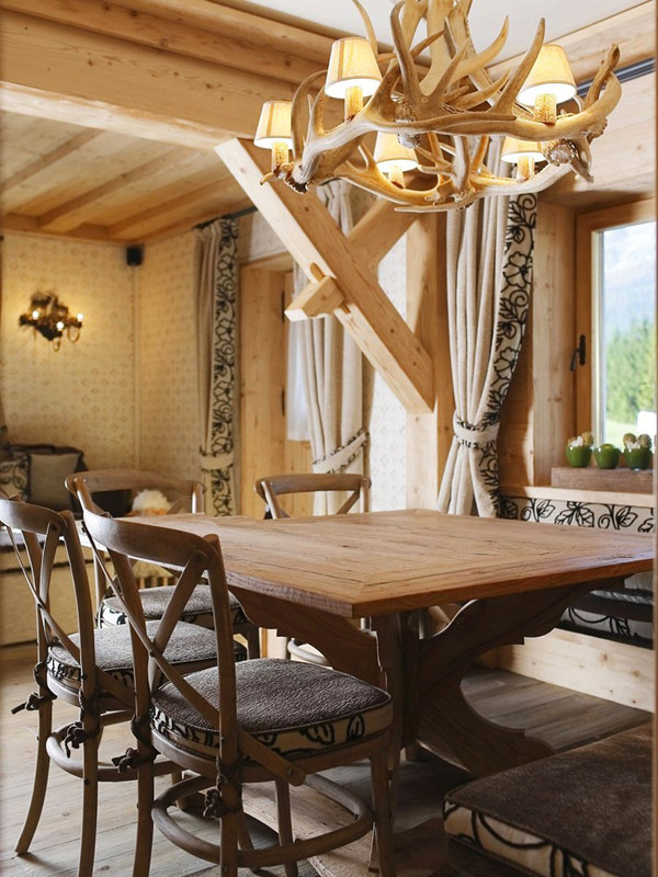 Rustic Wooden Apartment interior Rustic Italian Apartment Fully Furnished With Wood Is Inviting and Cozy