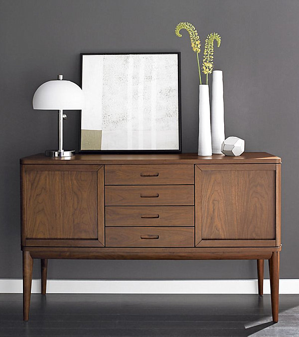 20 modern credenzas with contemporary flair. Black Bedroom Furniture Sets. Home Design Ideas
