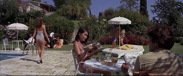 Scene from James Bond movie at Villa Sylva