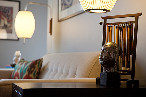Sconces with a retro look