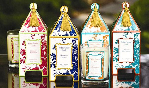 Seda France designer candles