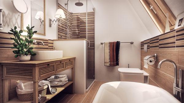 Vintage Modern Bathroom Affordable One Room Challenge Week One
