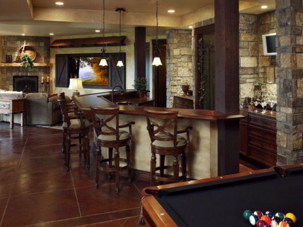 40 inspirational home bar design ideas for a stylish for Small basement bar ideas