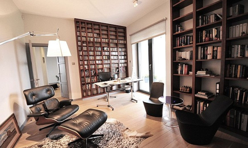 Small Study Room Design Ideas Part - 24: Sophisticated Home Study Design Ideas