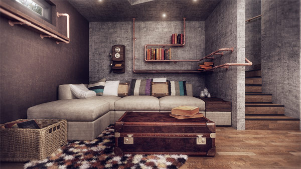 Modern romanian home design fuses vintage with for Retro modern house plans