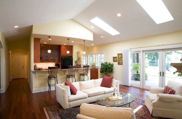 skylight living room 30 inspirational ideas for living rooms with skylights 10713