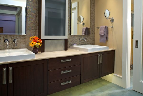 Bathroom Cabinets 27 floating sink cabinets and bathroom vanity ideas