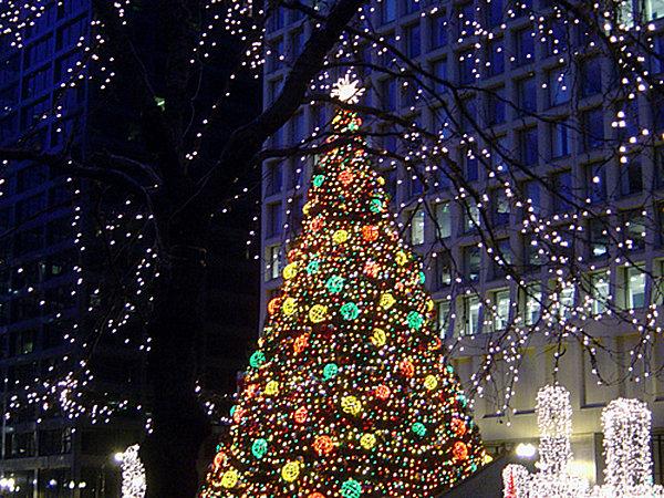 Led Light Show Christmas Tree