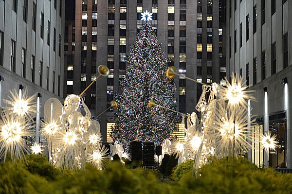The Rockefeller Center Christmas tree The 10 Most Amazing Christmas Trees in the U.S.