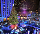 The Rockefeller Center tree lighting ceremony