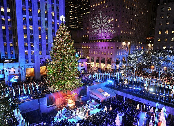 The 10 most amazing christmas trees in the u s for Things to do in nyc during winter