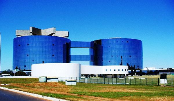 The Sede da Procuradoria Geral da República by Niemeyer