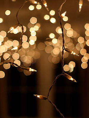 Twinkle lights for New Year's Eve