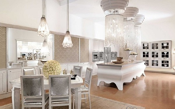 Ultra Extravagant Kitchen Island Brummel Cucine Kitchen Island Design Ideas   Types & Personalities Beyond Function