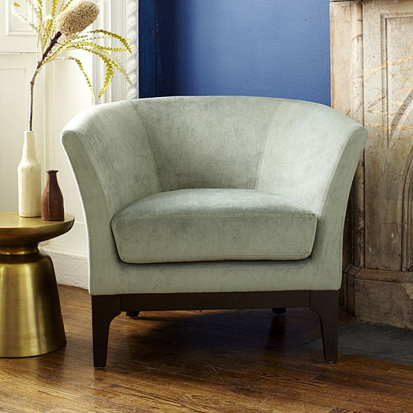 Upholstered armchair 21 Gorgeous Armchairs That Blend Comfort and Style