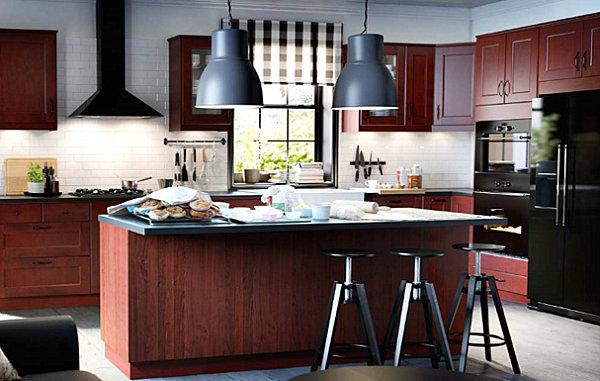 Warm, modern Scandinavian kitchen design