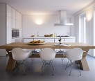 all white kitchen furniture