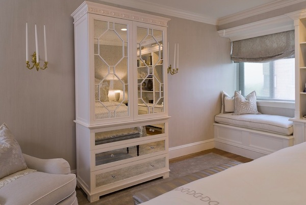 Armoire wardrobe designs that add space to your bedroom for Makeup by tiffany d dining room