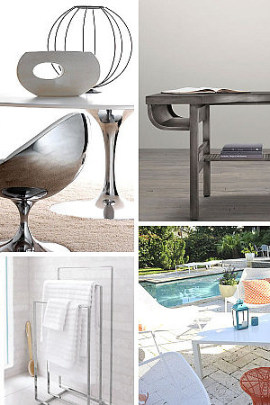 beautiful metal furniture