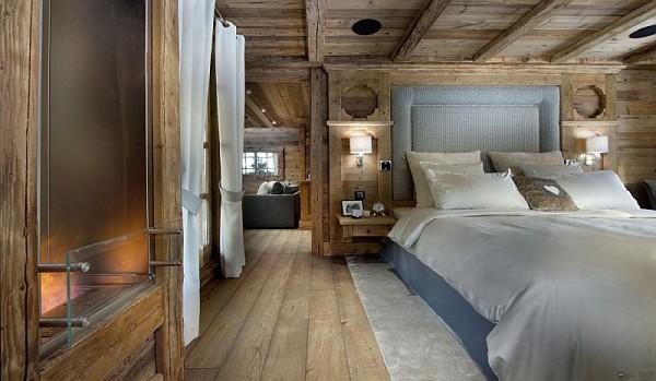 beautiful-rustic-chalet-bedroom-design