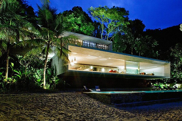 cement beach house
