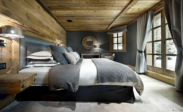 chalet bedroom decor