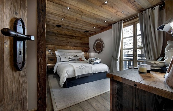 Chalet le petit chateau in the french alps promises to pamper your senses in - Decoration style chalet ...