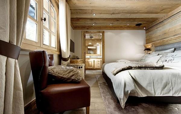 chalet bedroom idea