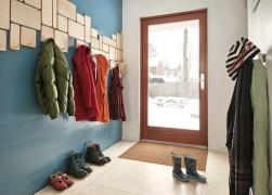 coatrack hallway modern