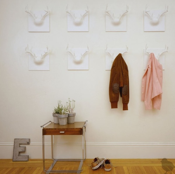 Coat Hanging Solutions creative coat rack designs to help save space