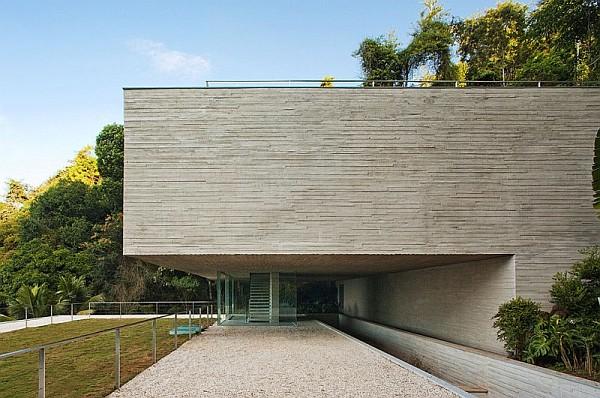 concrete exterior walls