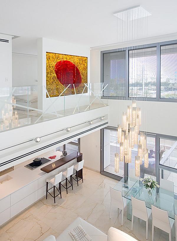 contemporary loft study