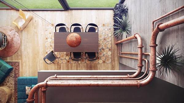 decorating with pipes