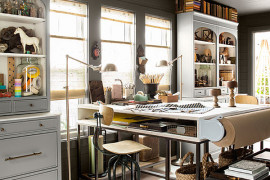 Smart Home Office Design Merges Pleasing Aesthetics With Perfect Ergonomics
