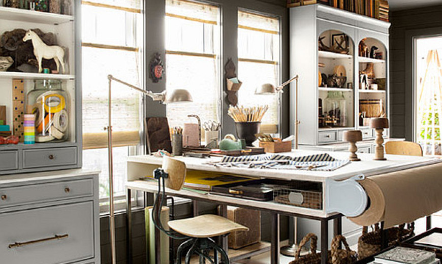 Dream home office Graphic Artist Smart Home Office Design Merges Pleasing Aesthetics With Perfect Ergonomics Decoist Smart Home Office Design Merges Pleasing Aesthetics With Perfect