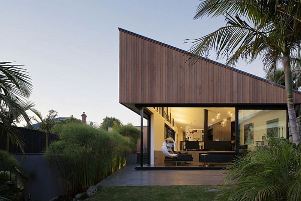 Modern Family Home Surrounded By Nature In Mount Eden New