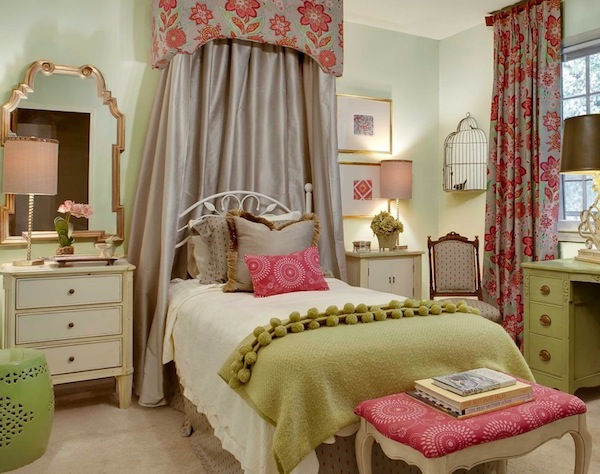 Baby girls rooms ideas with non traditional colors for Bedroom ideas for older teenage girls