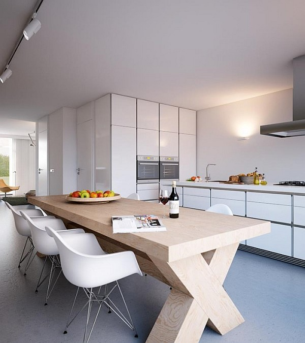 Sleek Kitchen Design: Minimalist Home Captivates With Sleek Design And Ergonomic