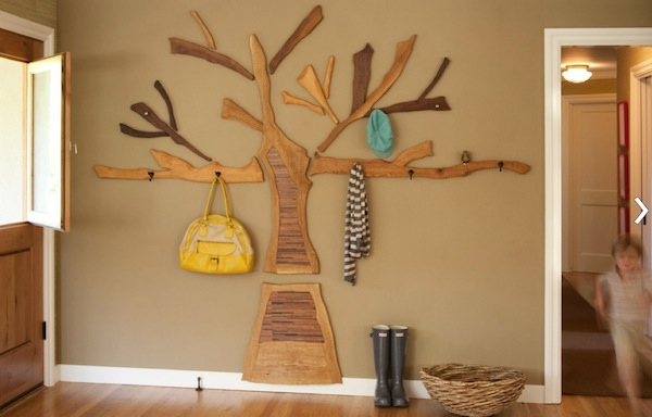 Wall Coat Hangers In Hallway creative coat rack designs to help save space