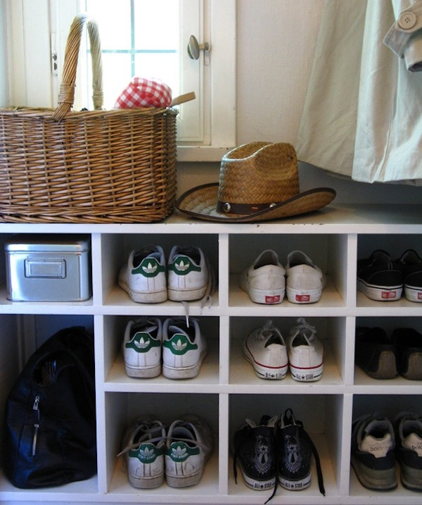 More shoe storage solutions for your home - Shoe storage ideas small space image ...