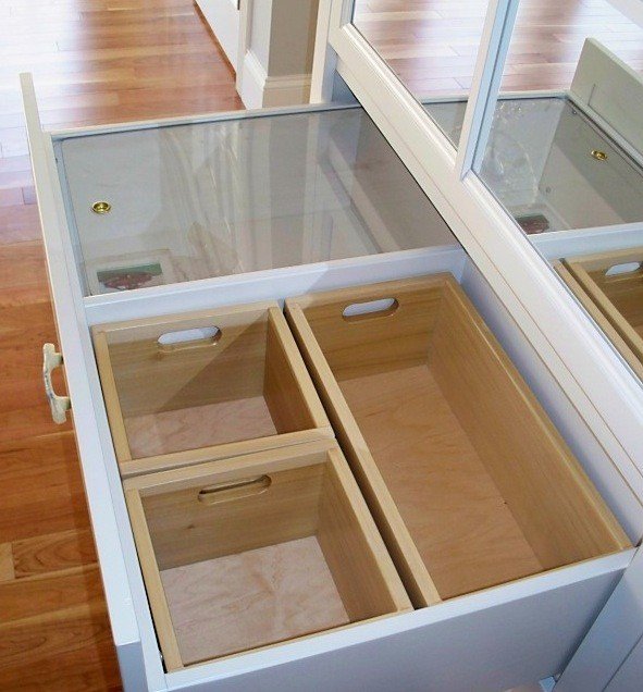 kitchen storage drawers e1356148620625 How to Find Hidden Kitchen Storage Solutions