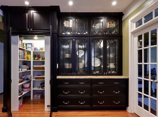 find hidden kitchen storage solutions