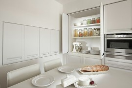 kitchen storage white