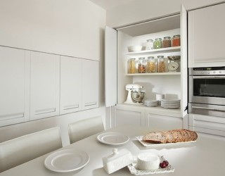 kitchen storage white