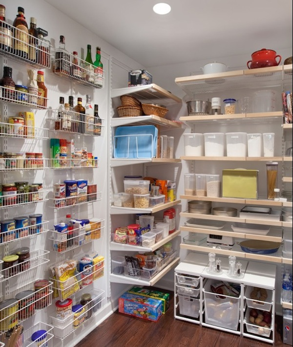 kitchen storage wire shelving