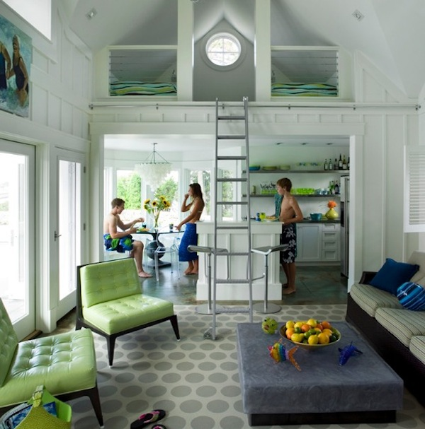 loft bed kids attic idea Outfitting Your Kids' Room With A Stylish Loft Bed