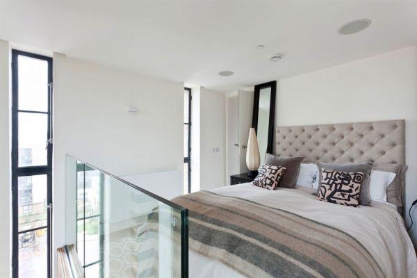 loft like bedroom