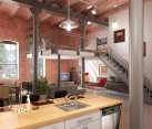loft living area design