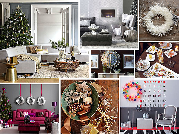 Home Christmas Decorations modern christmas decorating ideas for your interior